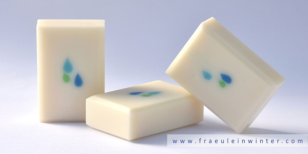 Droplets Soap | Handcrafted by Fraeulein Winter