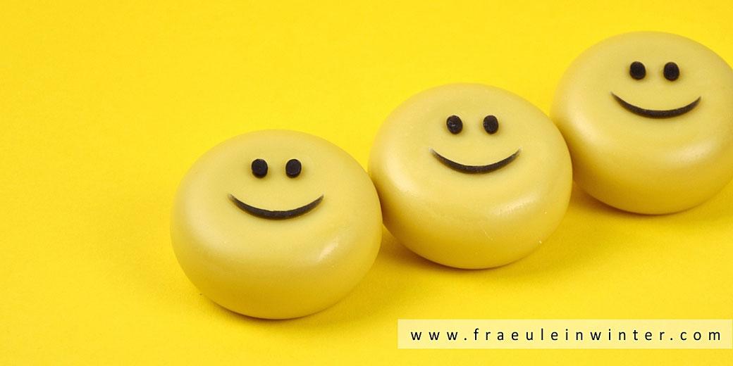 Lächelnde Seife mit Mangobutter | Fräulein Winter