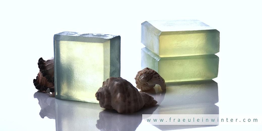 Selbstgemachte Transparentseife | Fräulein Winter