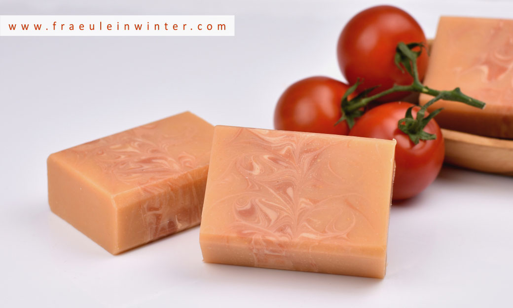 Tomatenseife - Seife selber machen | Fräulein Winter