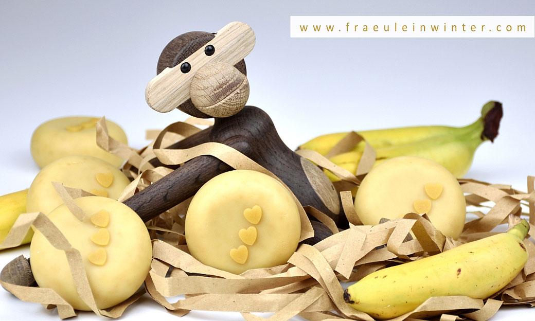 Bananenseife mit Milch | Fräulein Winter