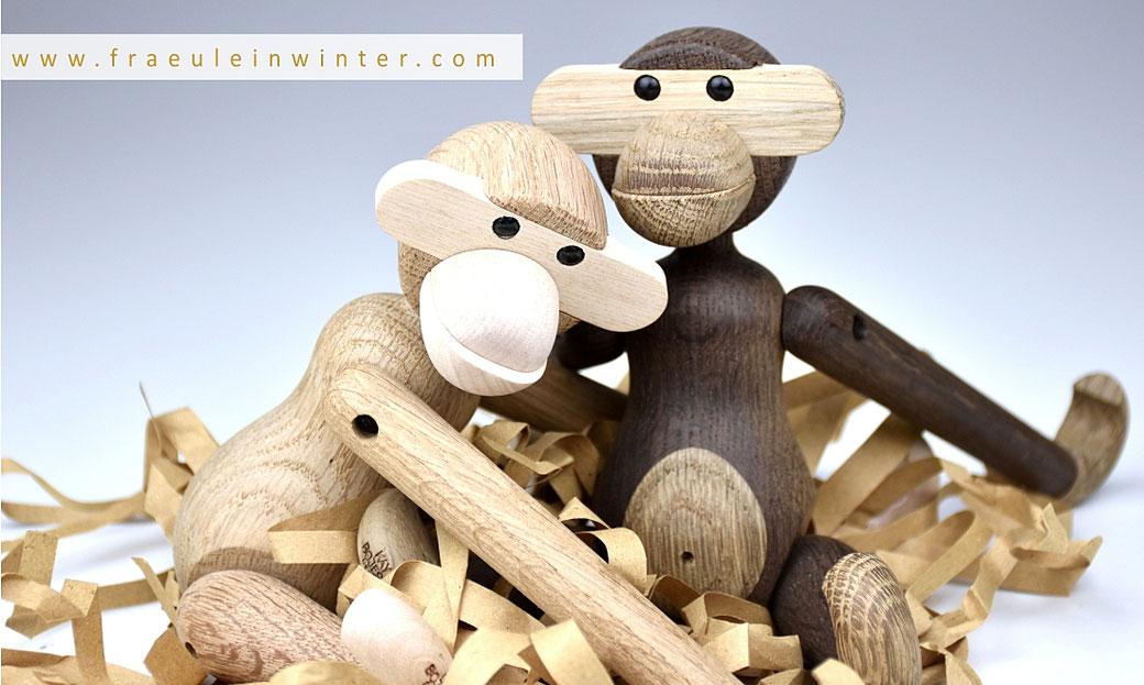 Holzaffen von Kay Bojesen | Foto von Fraeulein Winter