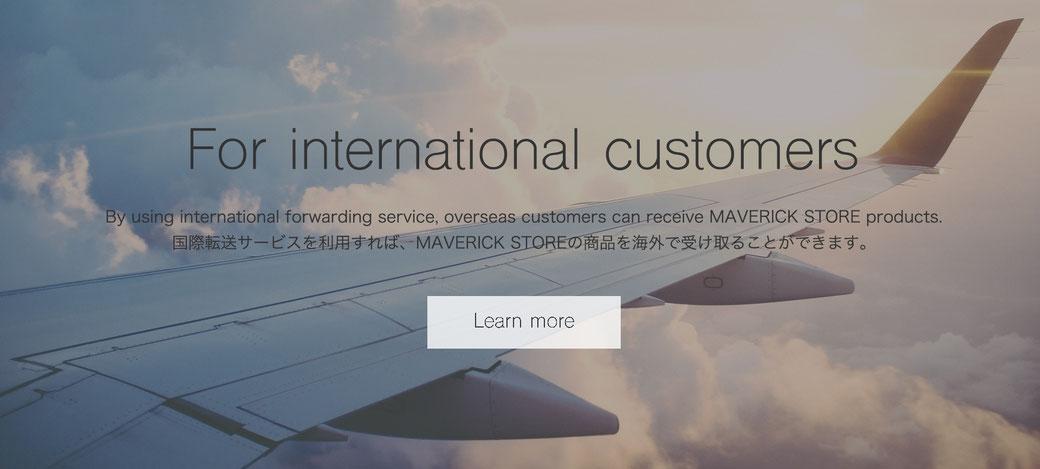 For international customers