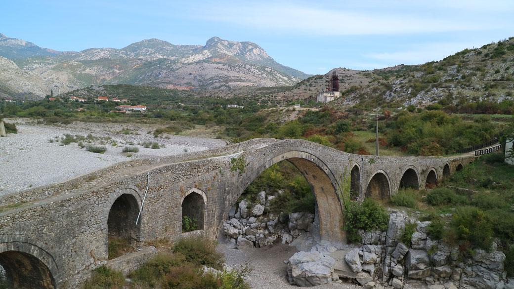 Mes Brücke, Albanien