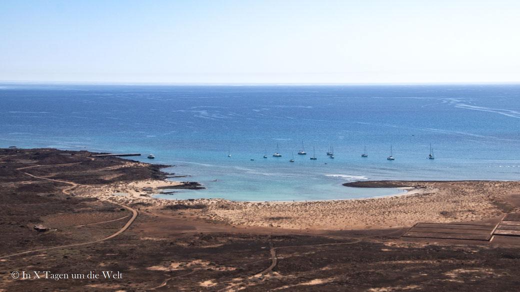 Insel Lobos Strand