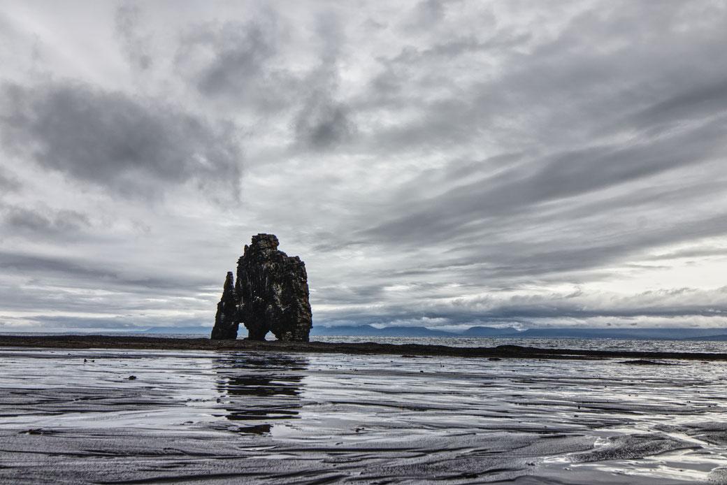 Island Vatsnes Halbinsel Troll