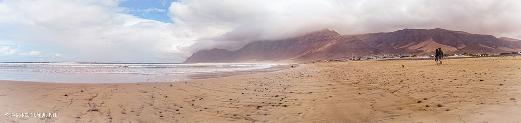 Lanzarote Strand Playa de Famara