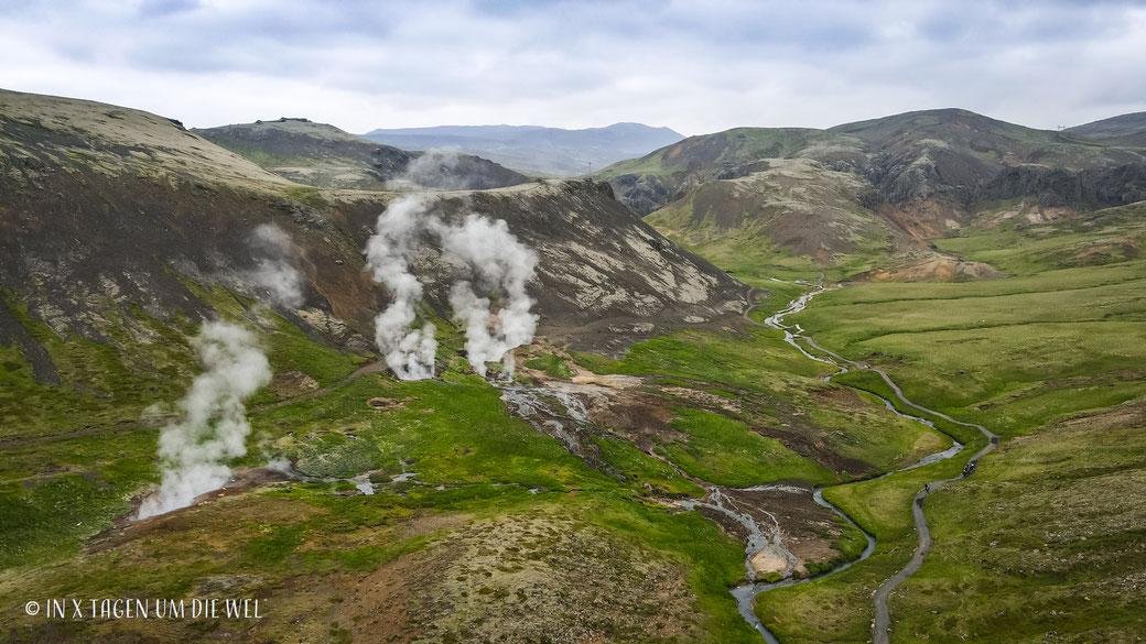 Reykjadalur Island