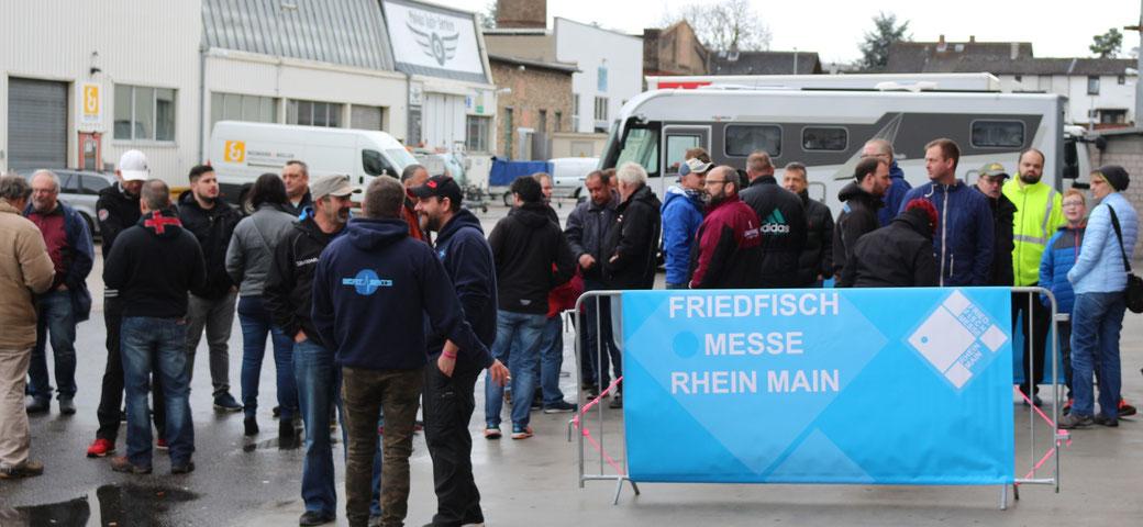 Gruppenfoto Friedfisch Messe Rhein Main 2018