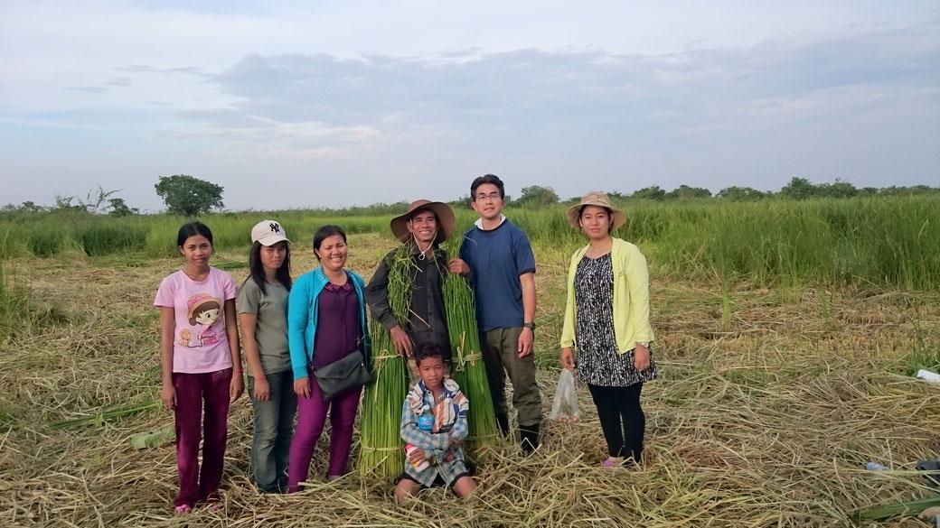 カンボジアの生産者と子供たち!