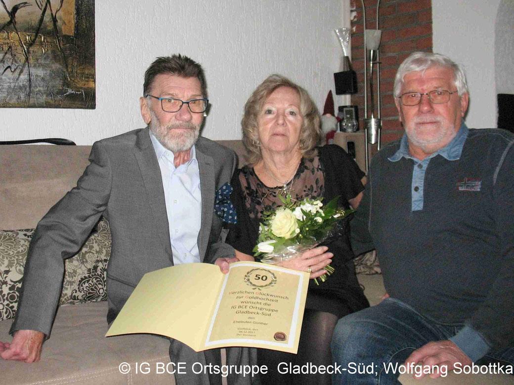 IG BCE Gladbeck-Süd: Goldhochzeit
