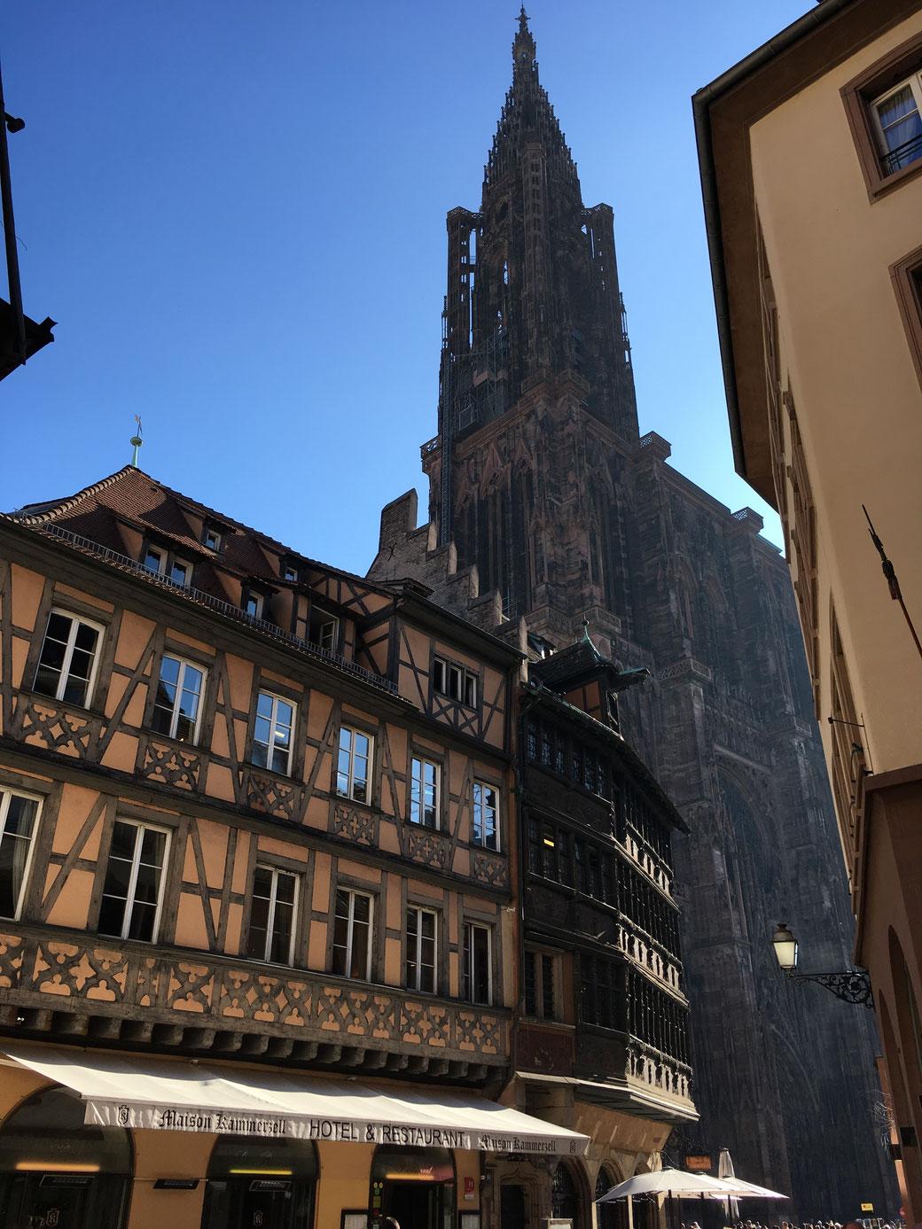 Straßburger Münster und Maison Kammerzell