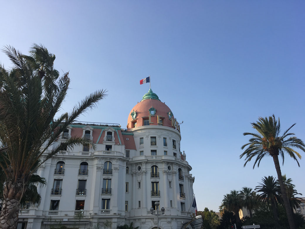 Das bekannte Hotel Negresco