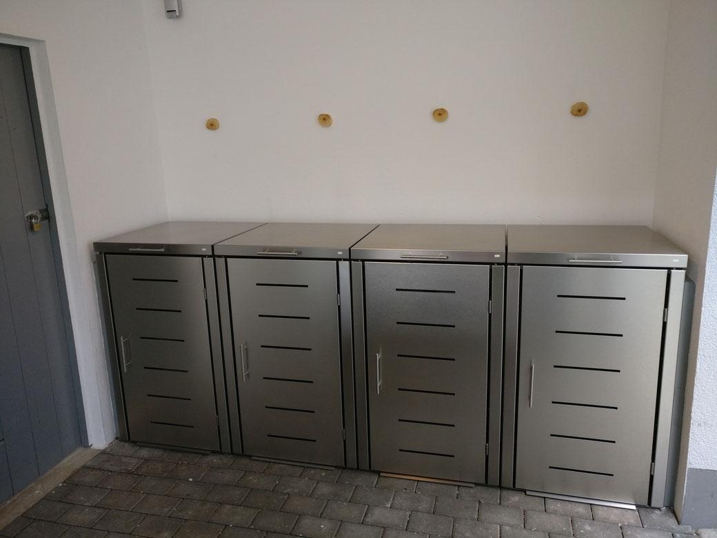 Mülltonnenbox Toppic