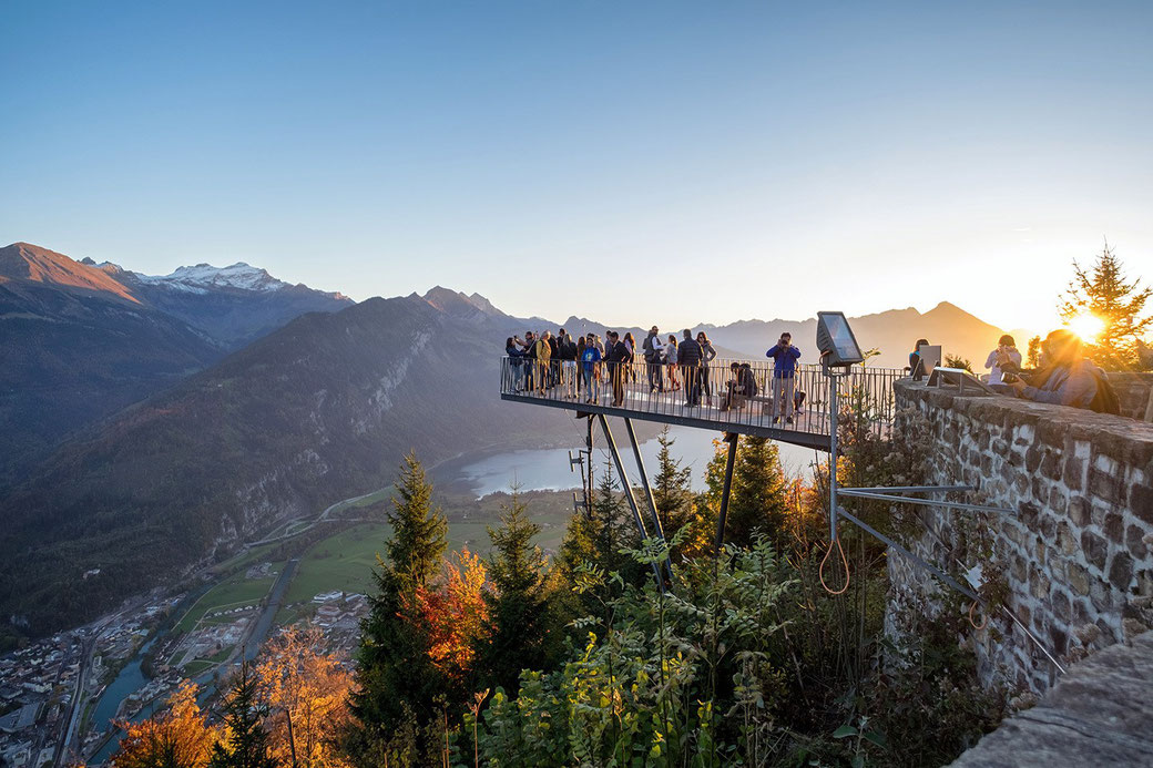 Harder Kulm viewing platform