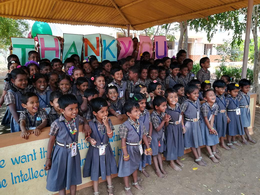 Die Bless Kids bedanken sich bei ihren Sponsoren