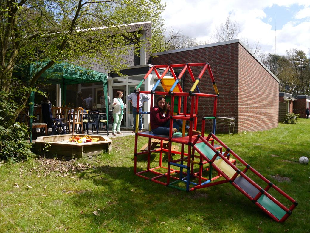Klettergerüst Spielplatz : Wieder ein schritt weiteru c klettergerüst für neuen spielplatz