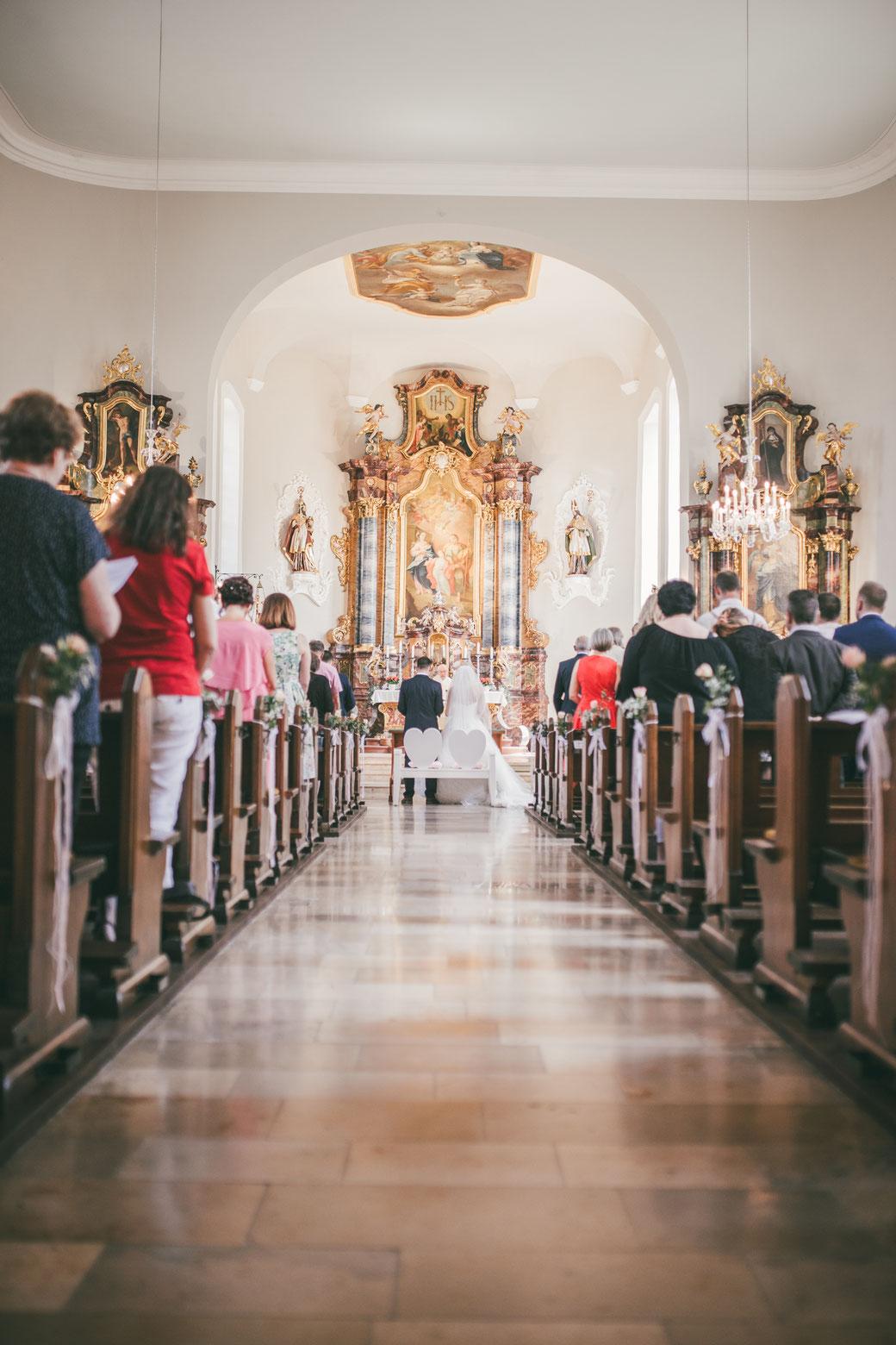 Hochzeitsfotos Kirche Hochzeitsfotografin Kaiserstuhl