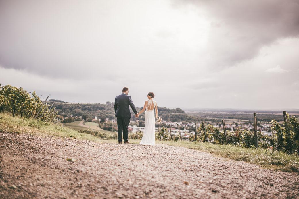 Hochzeitsfotos Weinberge