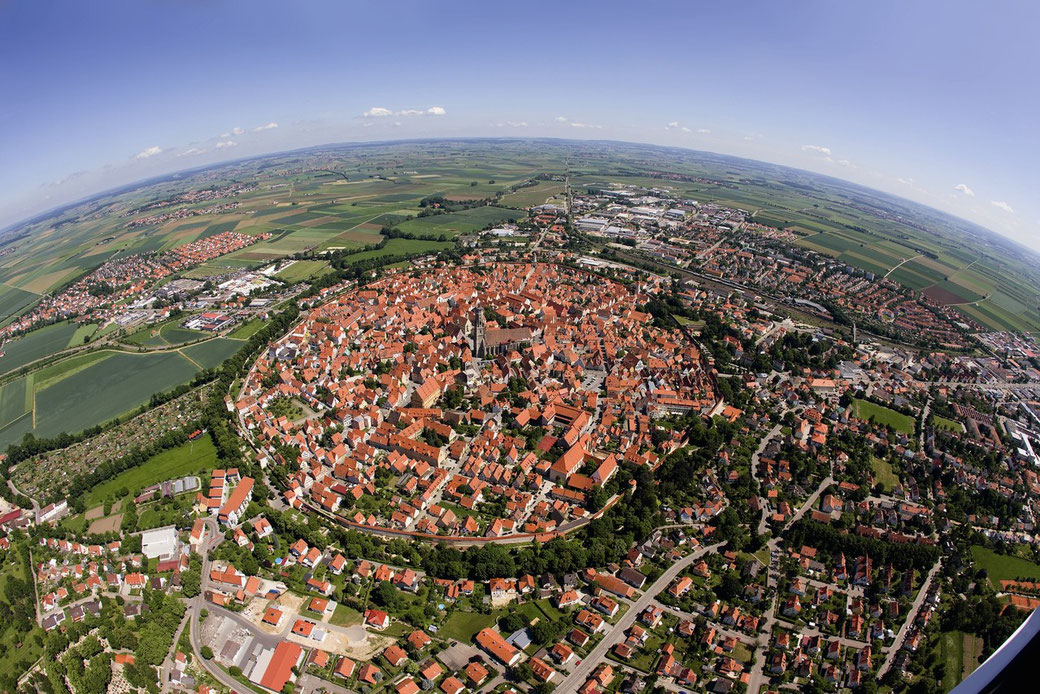 Mittelalterliche Stadt Nördlingen