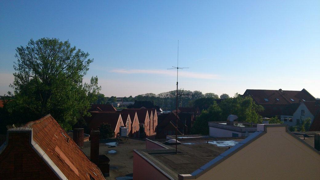 Über den Dächern von Rendsburg