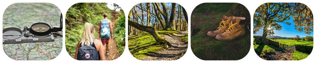 randonnées à découvrir, services aux randonneurs, sentiers de découverte autour de cuzorn, village du sud ouest