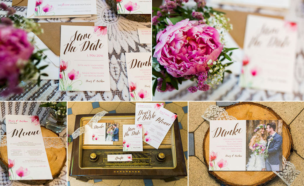 "Styled Shoot ""Vintage Floral"" – Photo: www.deinz-fotografie.de"