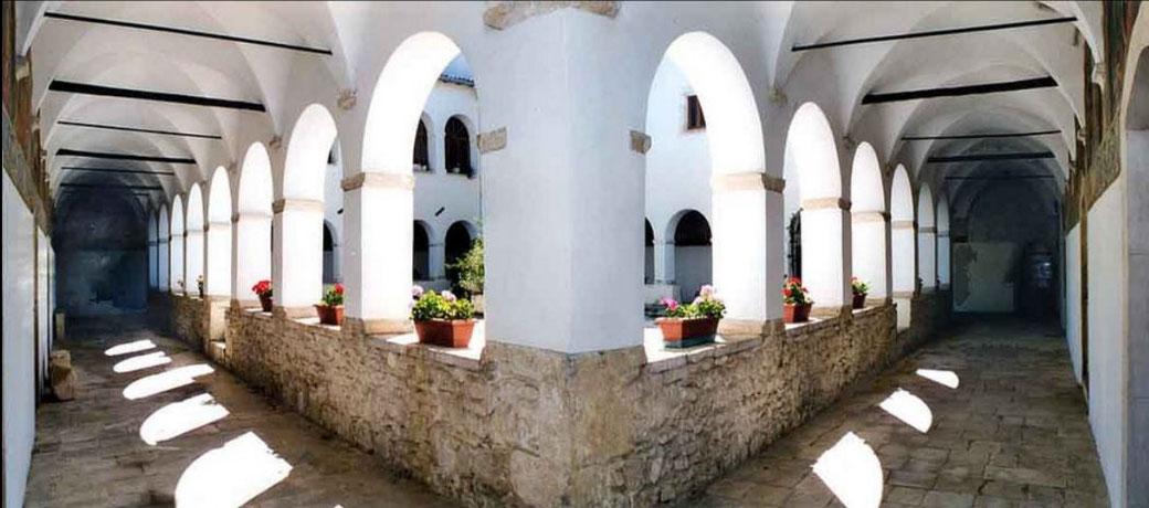 Chiostro convento dell'Osservanza