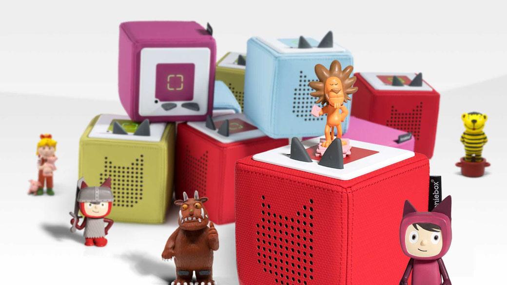 Zum Abspielen der Geschichten braucht's eine Tonie-Box. Bild: tonies.de