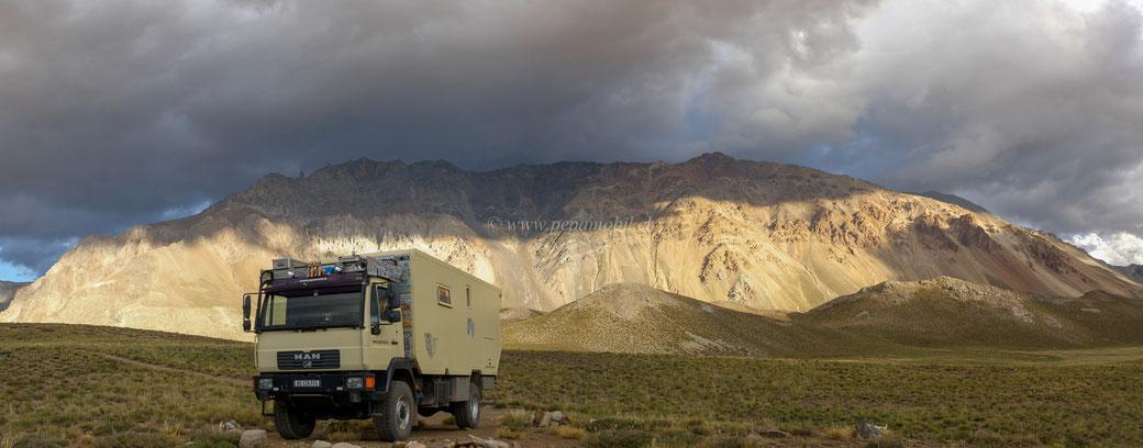 Valle Hermosos in Argentinien unsere Platz Nummer 1