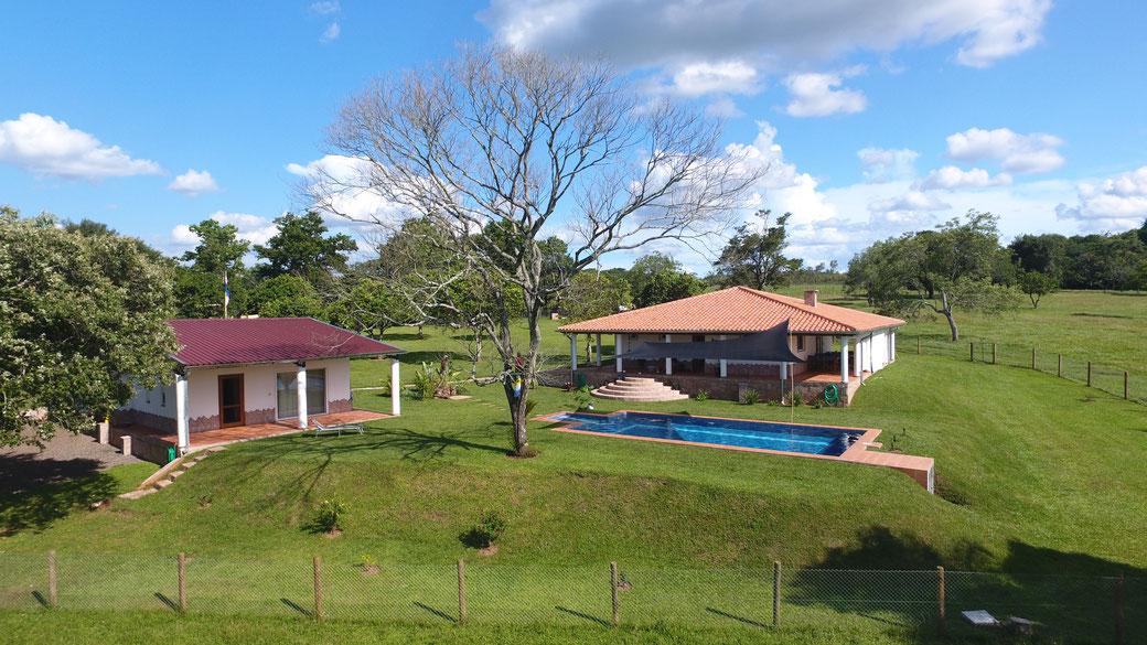 Hausbau in Paraguay