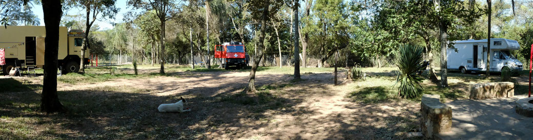 Camping Hasta la Pasta in Altos / Paraguay