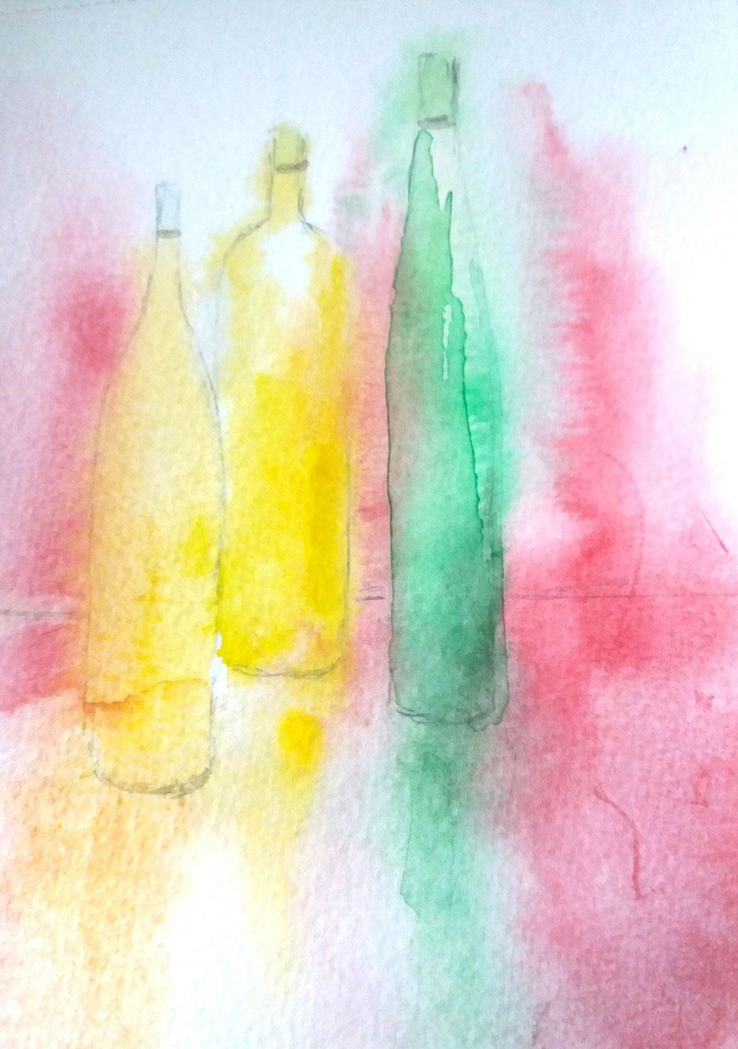 Peindre avec les Aquarelles d'Igor Trestoï