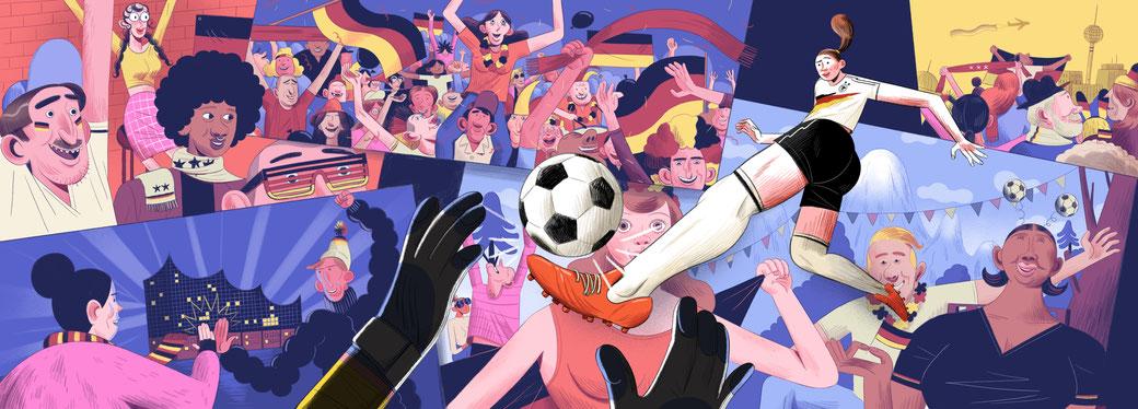 Google Doodle: FIFA's 2019 Women's World Cup