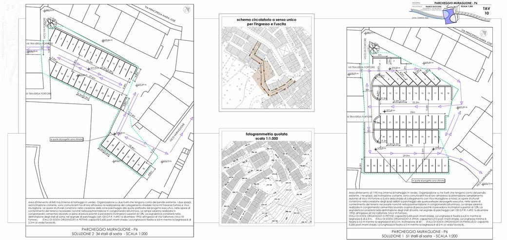 Stralcio di un Piano Urbano del Traffico (PUT)  - TAV 10