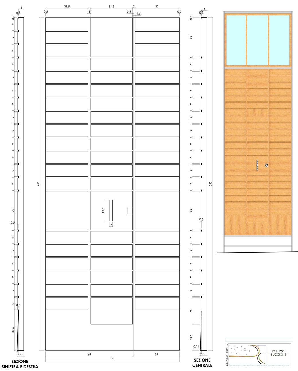 Esempio di progettazione strutturale - Progetto porta ingresso immobile