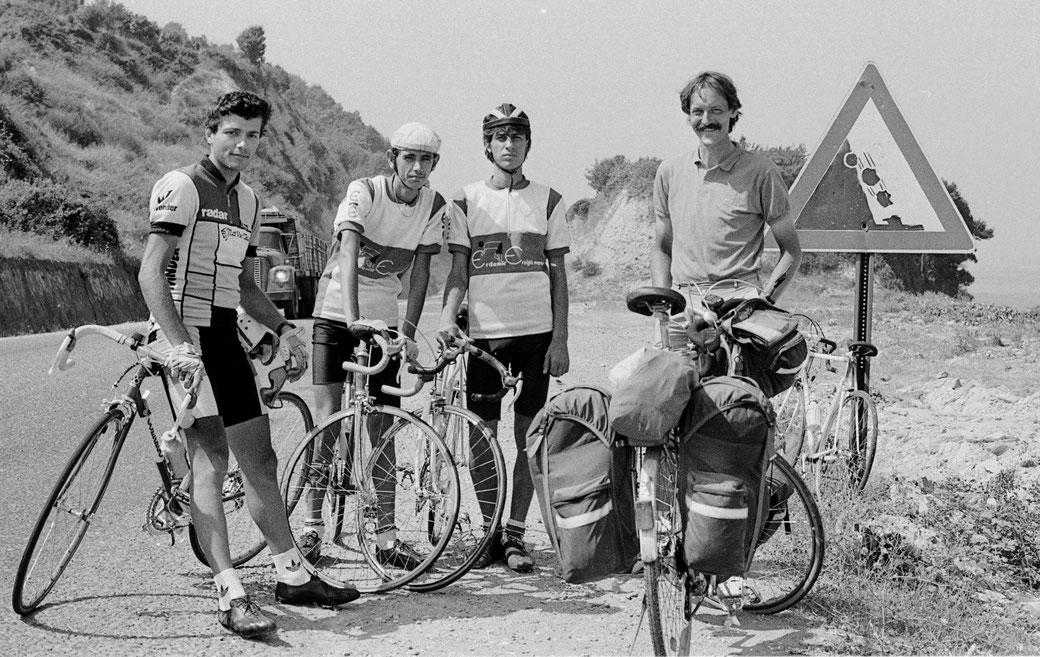 """Mit dem Koga """"RX"""" 1988 an der türkischen Schwarzmeerküste"""