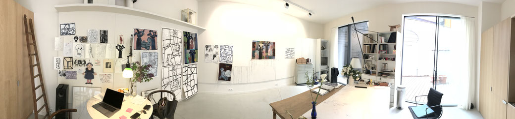 Atelier à Bruxelles