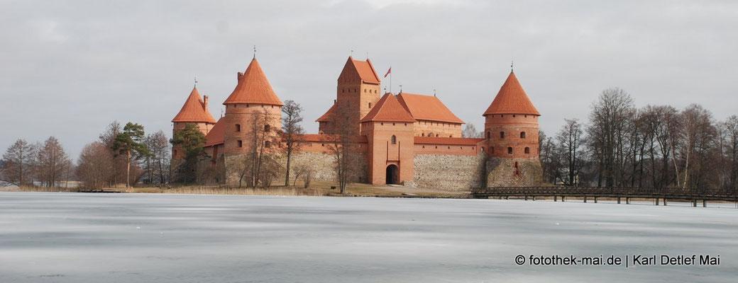 Reisefreuden, Foto: Wasserburg Trakai in Litauen, 2010