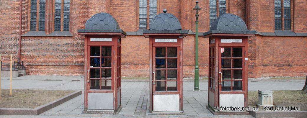 Freie Telefonzellen, Foto: Kaunas, Litauen 2010
