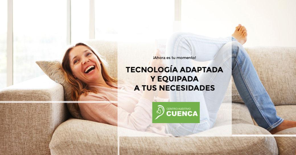 Audífonos adaptados y equipados para solucionar tu problema auditivo. Centro Auditivo Cuenca, en Valencia.