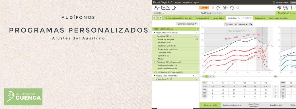 Adaptación de audífonos. Programas personalizados. Centro Auditivo Cuenca, audífonos en Valencia.
