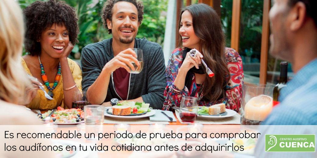 En el Centro Auditivo Cuenca te ofrecemos 30 días de prueba de tus audífonos!
