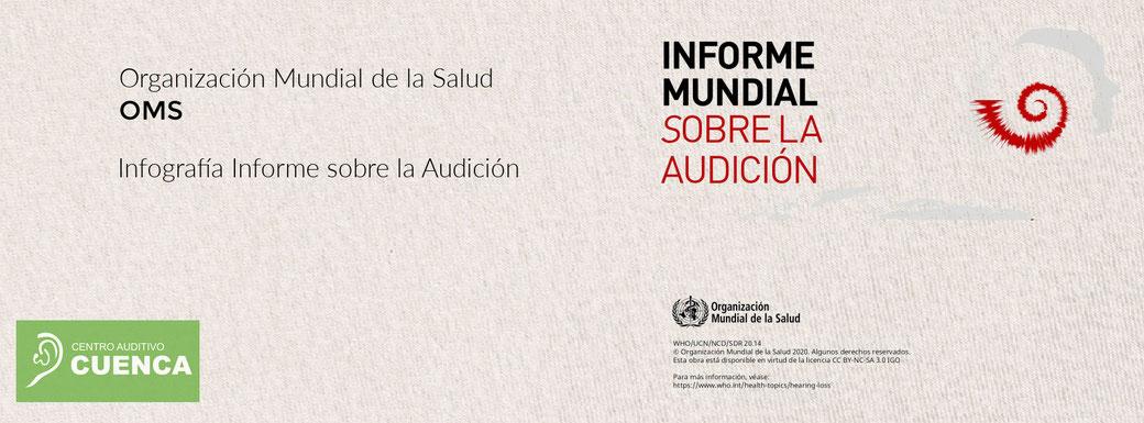 Infografía del Informe Mundial sobre la Audición de la OMS