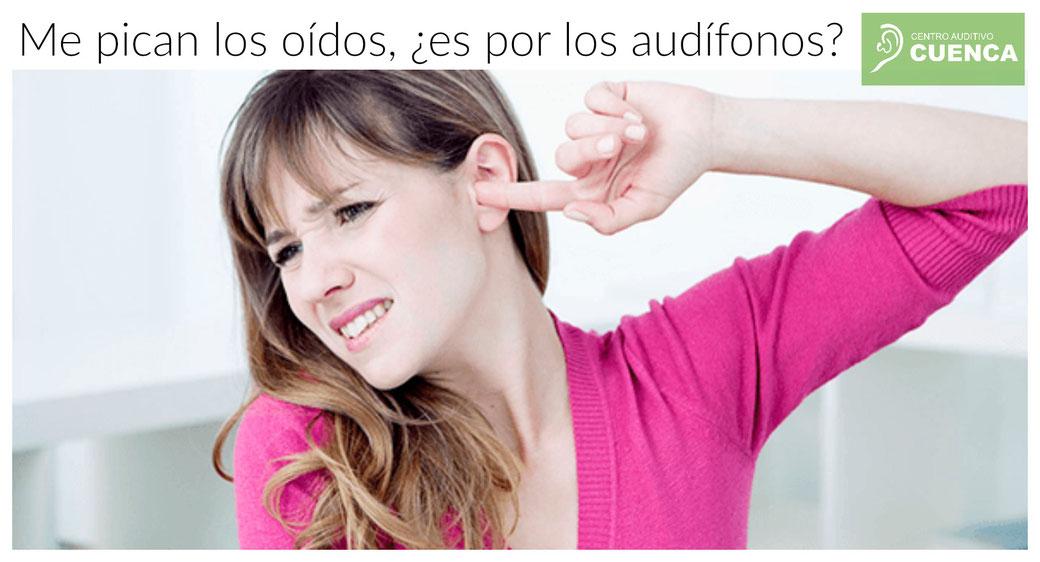Cuando usamos audífonos por primera vez, es posible que nos piquen los oídos. Pero tiene solución. Centro Auditivo Cuenca.
