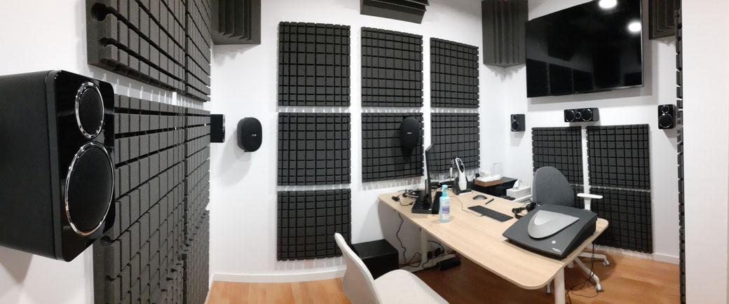 Sala Audiología Técnica, Centro Auditivo Cuenca