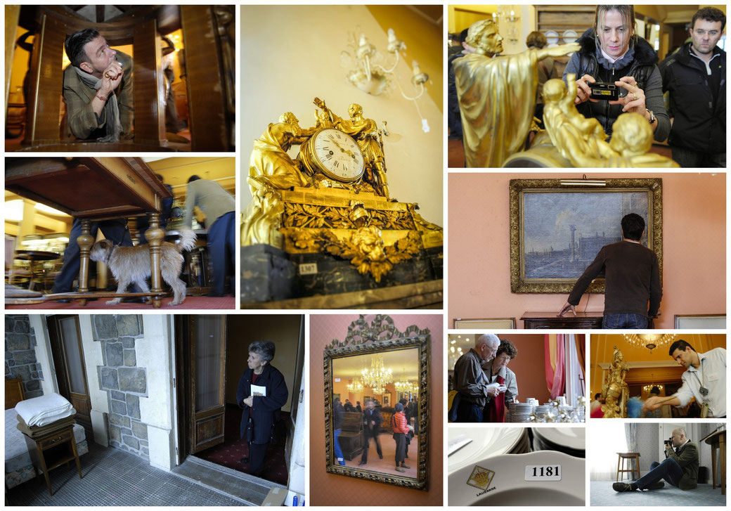 Hotel Royal Savoy, Lausanne - Versteigerung Inventar