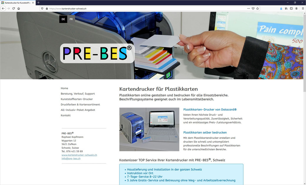 Pneuhaus Rütihof AG, Rapperswil-Jona + Rüti ZH