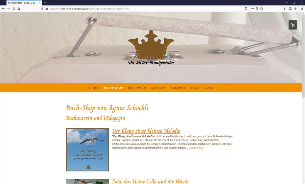 Die kleine Königsstube - Manufaktur für klingende Geschichten - Agnes Schöchli