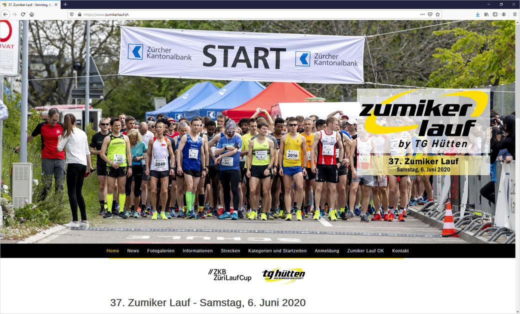Zumikerlauf by TG hütten - Webdesign by www.commax-ag.website